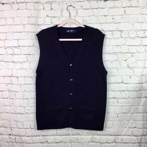J. CREW: Vintage Wool Sweater Vest